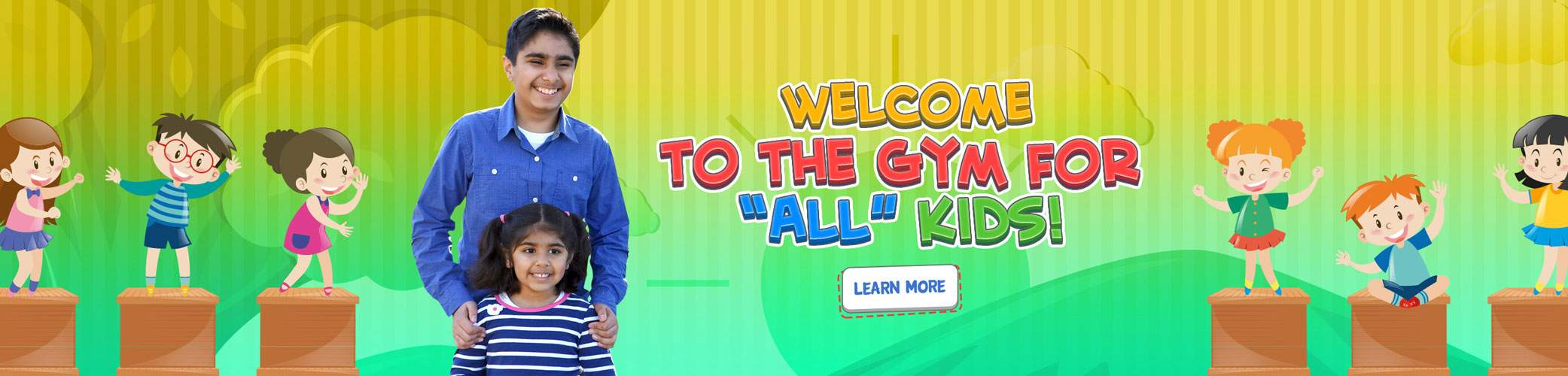 Kids Gym For All Kids | We Rock The Spectrum - Loudoun